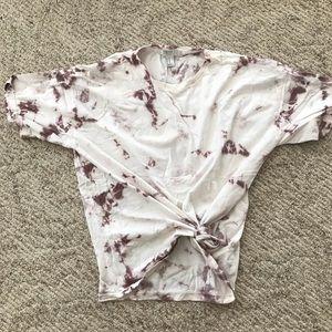 Tops - Tie dye tee shirt